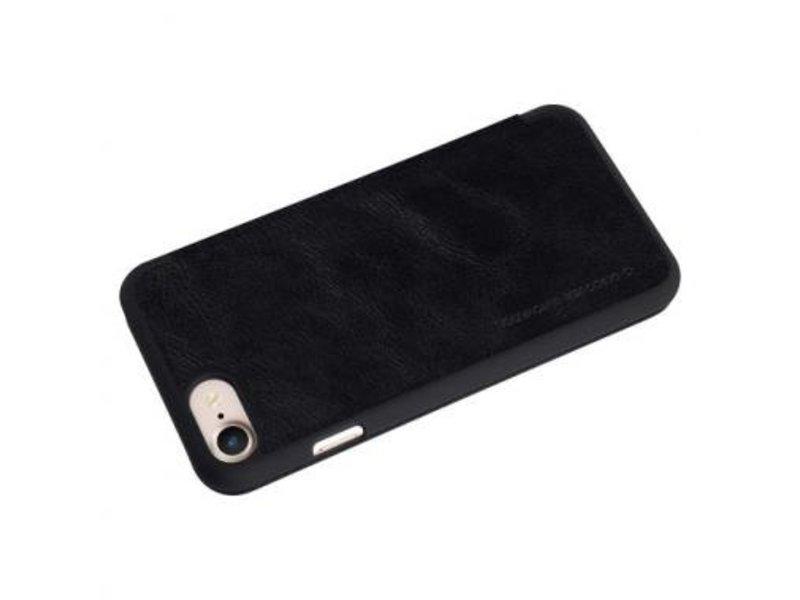 Nillkin Nillkin QIN Wallet Book Case Zwart Apple iPhone 7