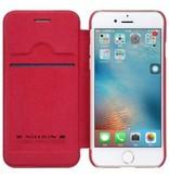 Nillkin Nillkin QIN Wallet Book Case Rood Apple iPhone 7/8