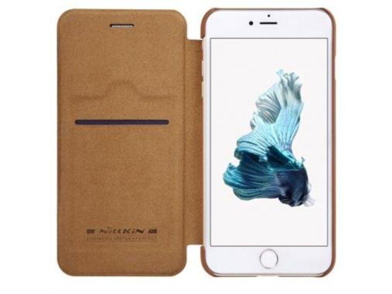 Nillkin Nillkin QIN Wallet Book Case Bruin Apple iPhone 7 Plus