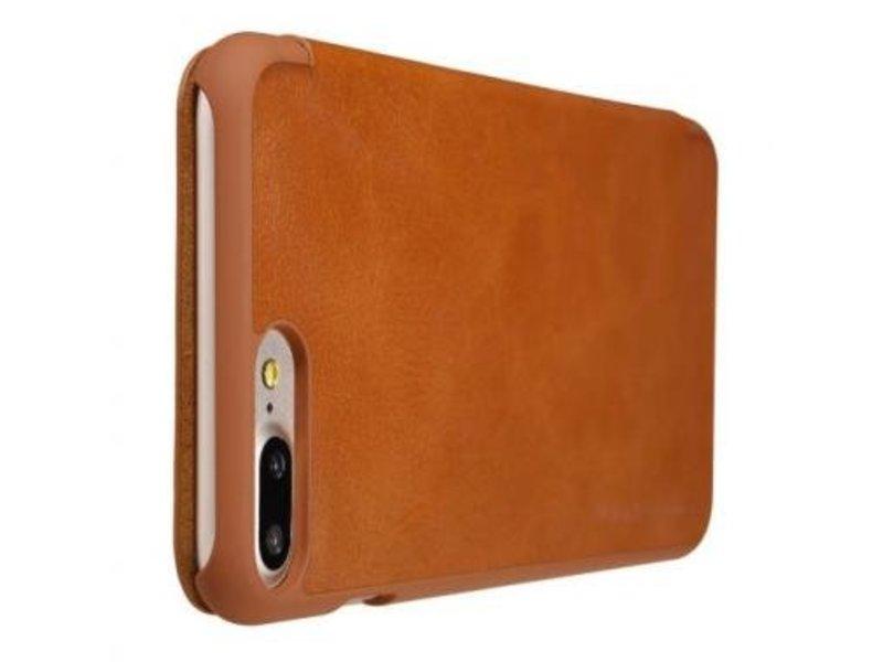 Nillkin Nillkin QIN Wallet Book Case Bruin Apple iPhone 7/8 Plus