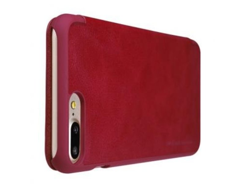 Nillkin Nillkin QIN Wallet Book Case Rood Apple iPhone 7 Plus