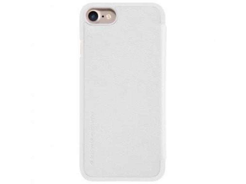 Nillkin Nillkin QIN Wallet Book Case Wit voor Apple iPhone 7/8