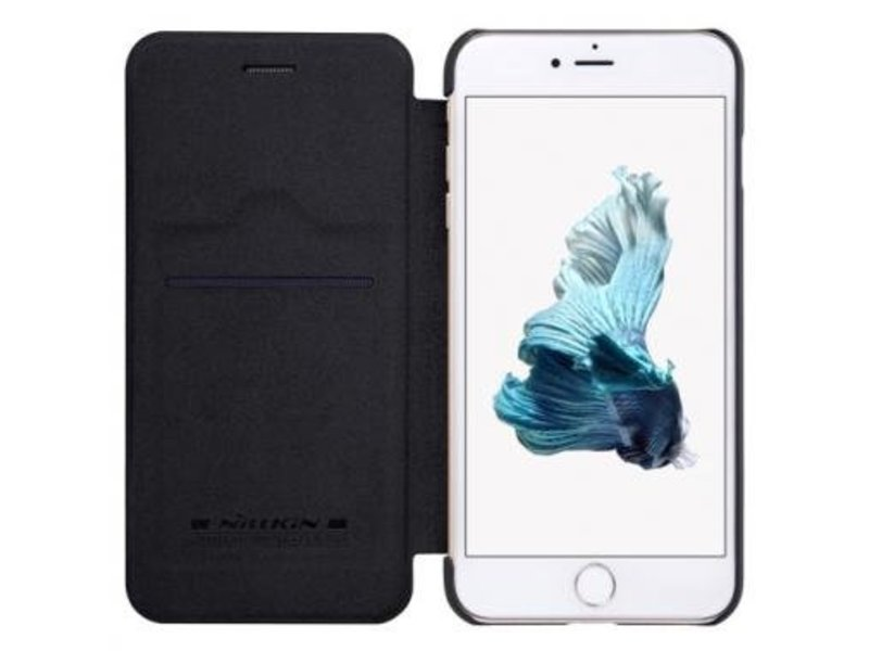 Nillkin Nillkin QIN Wallet Book Case Zwart voor Apple iPhone 7/8 Plus