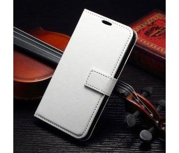 Wallet Book Case Wit voor Samsung Galaxy S7 Edge