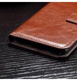 Wallet Book Case Bruin voor Samsung Galaxy S7 Edge