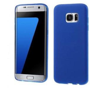 TPU Case Blauw voor Samsung Galaxy S7 Edge