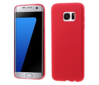 TPU Case Rood voor Samsung Galaxy S7 Edge