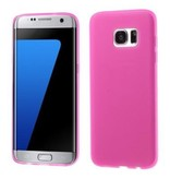 Mobiware TPU Case Rose voor Samsung Galaxy S7 Edge