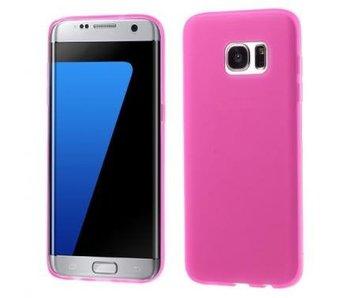 TPU Case Rose voor Samsung Galaxy S7 Edge