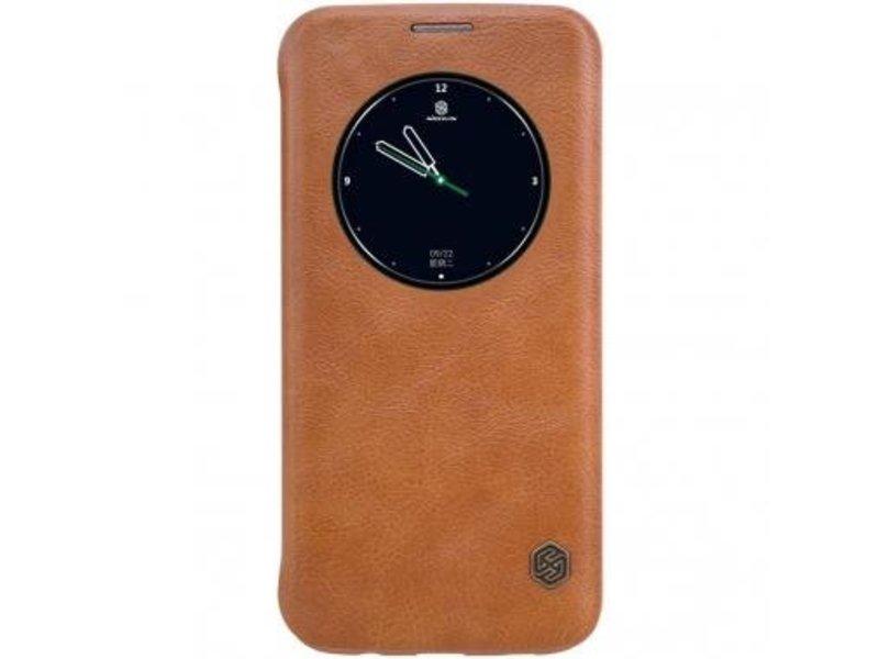 Nillkin Nillkin QIN Circle Book Case Bruin voor Samsung Galaxy S7 Edge