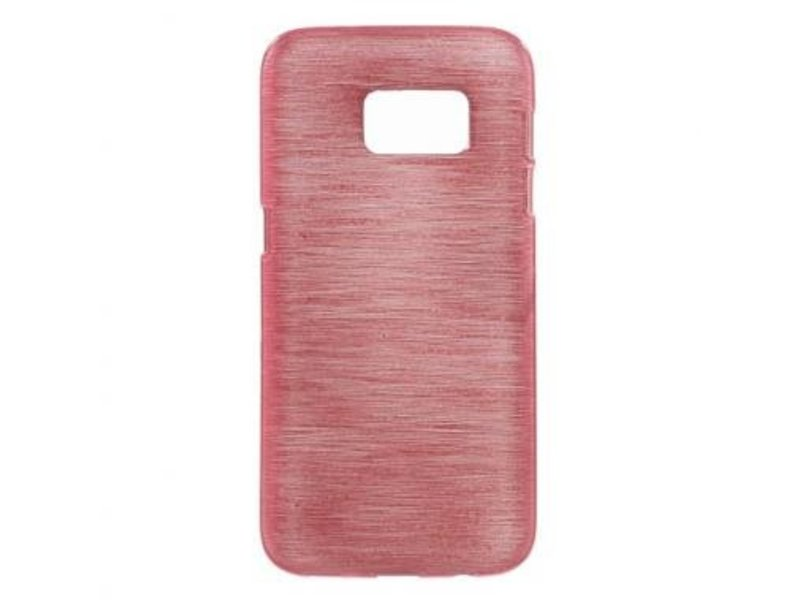 Mobiware TPU Case Brushed Roze voor Samsung Galaxy S7