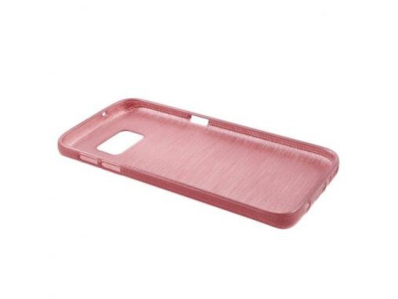 TPU Case Brushed Roze voor Samsung Galaxy S7