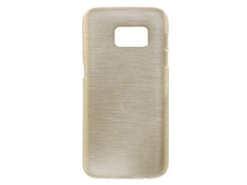 TPU Case Brushed Champagne voor Samsung Galaxy S7