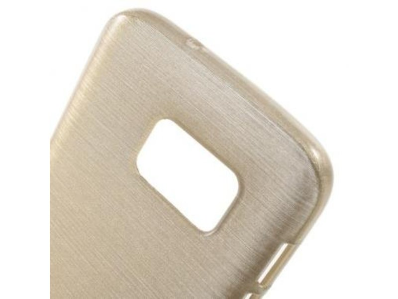 Mobiware TPU Case Brushed Champagne voor Samsung Galaxy S7