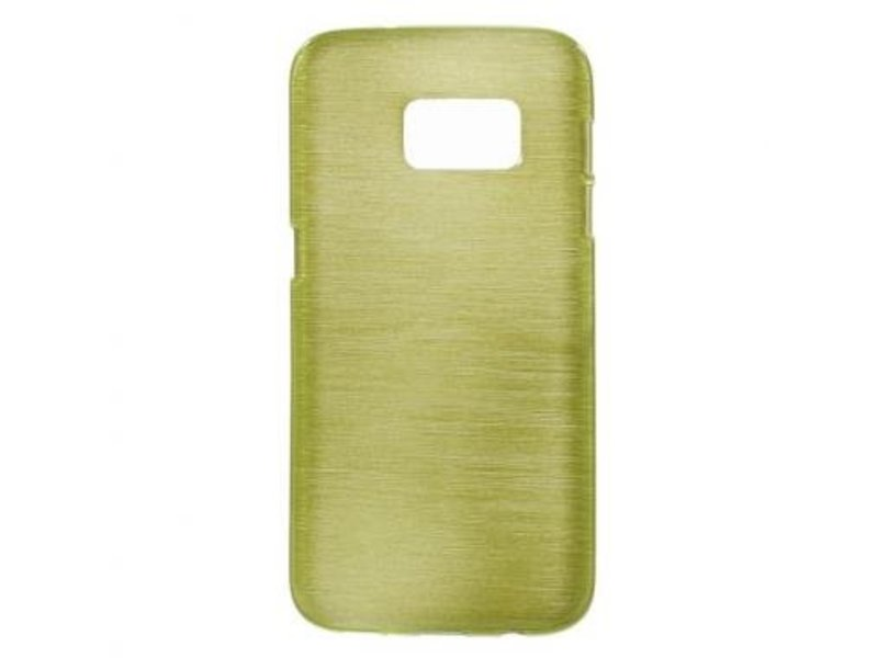 Mobiware TPU Case Brushed Groen voor Samsung Galaxy S7