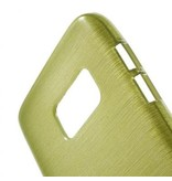 TPU Case Brushed Groen voor Samsung Galaxy S7