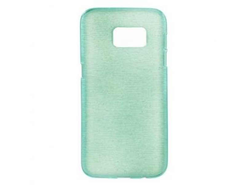 Mobiware TPU Case Brushed Turquoise voor Samsung Galaxy S7