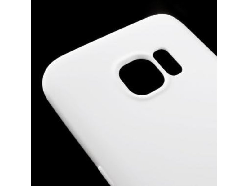 Mobiware TPU Case Wit voor Samsung Galaxy S7