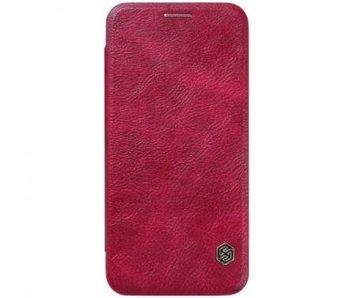 Nillkin QIN Wallet Book Case Rood voor Samsung Galaxy S7