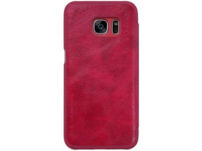 Nillkin Nillkin QIN Wallet Book Case Rood voor Samsung Galaxy S7