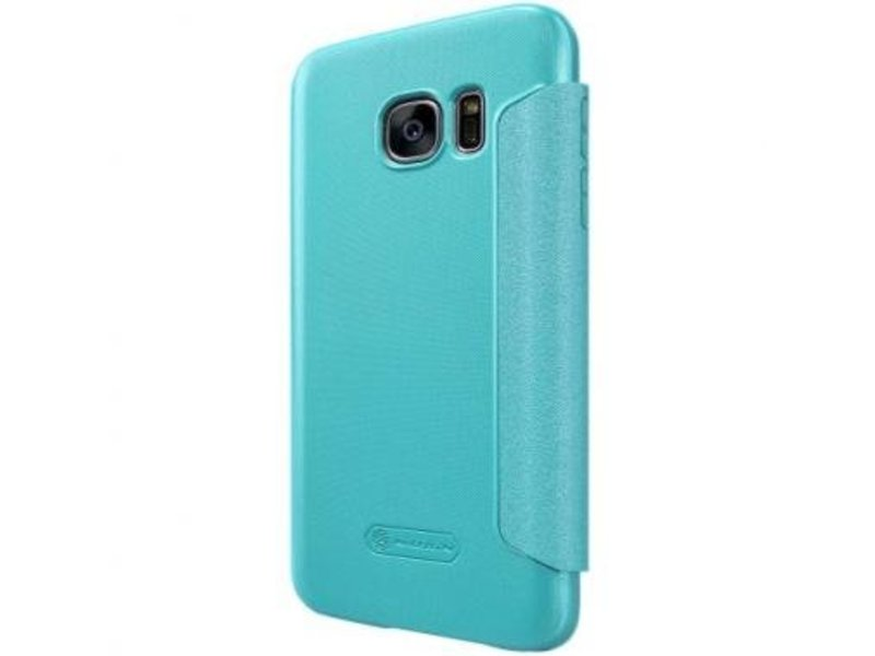 Nillkin Nillkin Sparkle Smart View Cover Blauw voor Samsung Galaxy S7