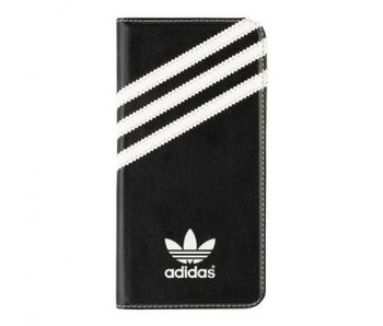 Adidas Booklet Case Zwart/Wit voor Apple iPhone 6/6S