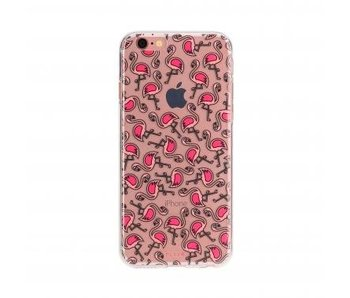 FLAVR TPU Case Flamingos voor Apple iPhone 7/8