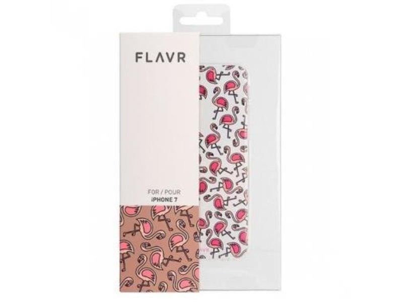 FLAVR FLAVR TPU Case Flamingos voor Apple iPhone 7/8