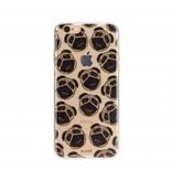 FLAVR FLAVR TPU Case Pugs voor Apple iPhone 7/8