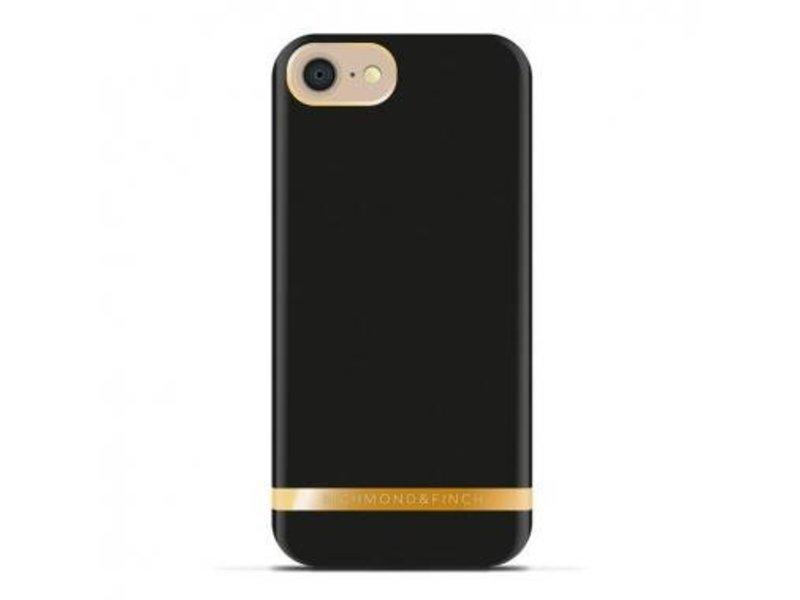 Richmond & Finch Richmond & Finch Classic Satin Case Zwart voor Apple iPhone 7/8