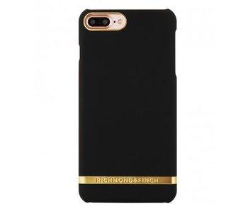 Richmond & Finch Classic Satin Case Zwart voor Apple iPhone 7/8 Plus