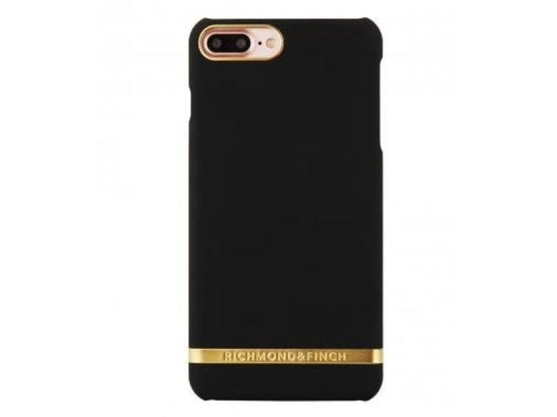 Richmond & Finch Richmond & Finch Classic Satin Case Zwart voor Apple iPhone 7/8 Plus