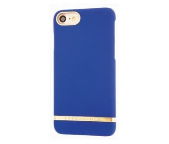 Richmond & Finch Classic Satin Case Blauw voor Apple iPhone 7/8