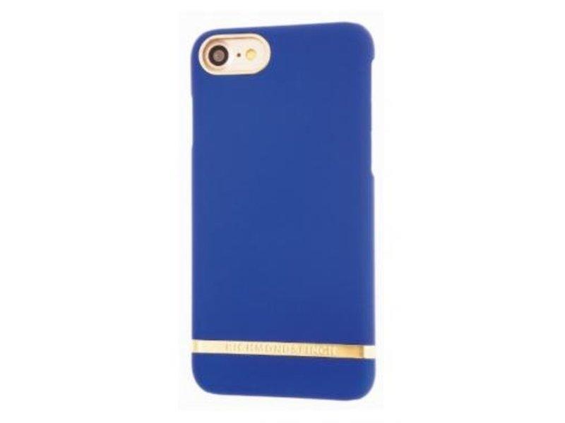 Richmond & Finch Richmond & Finch Classic Satin Case Blauw voor Apple iPhone 7
