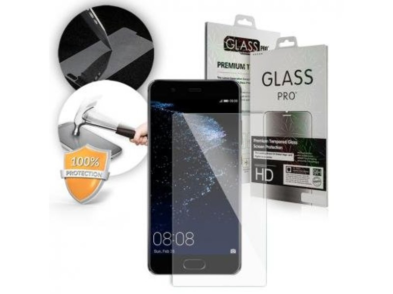 Mobiware Tempered Glass Screen Protector voor Huawei P10