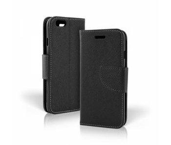 Wallet Book Case Zwart voor Huawei P10 Lite