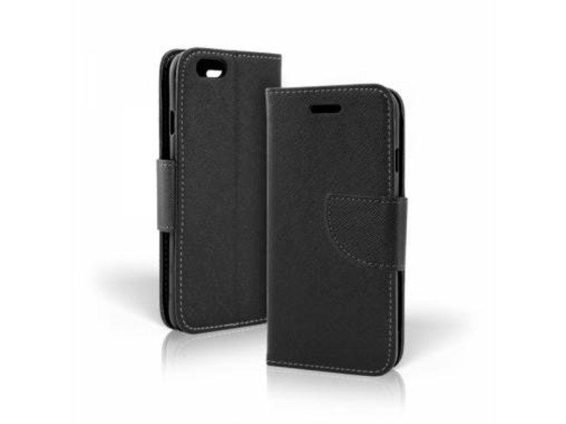 Mobiware Wallet Book Case Zwart voor Huawei P10 Lite
