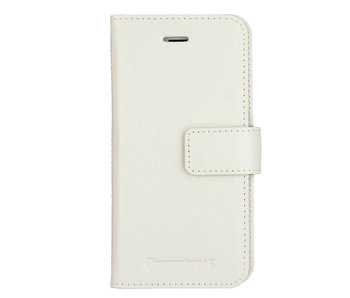 DBramante1928 Leather Wallet Folio Case Copenhagen 2 Antique White voor iPhone 8/7/6S/6