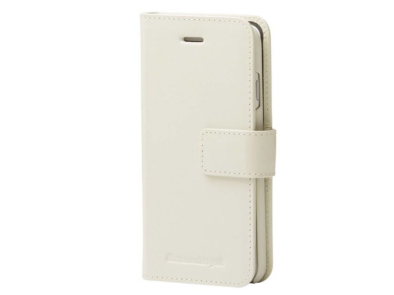 DBramante1928 DBramante1928 Leather Wallet Folio Case Copenhagen 2 Antique White voor iPhone 8/7/6S/6