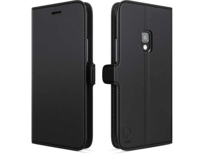 Qtrek Qtrek Wallet Case Zwart voor Samsung Galaxy S8
