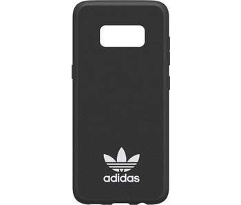 Adidas Slim Moulded Case Zwart voor Samsung Galaxy S8