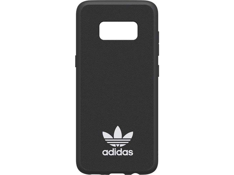 Adidas Adidas Slim Moulded Case Zwart voor Samsung Galaxy S8
