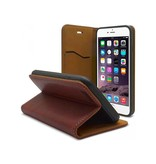 iHosen iHosen Leather Book Case Bordeaux Rood voor de iPhone 7/8 Plus