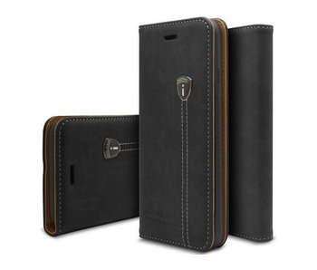 iHosen Leather Book Case Zwart voor de iPhone 7/8