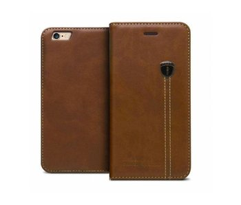 iHosen Leather Book Case Bruin  voor de iPhone 7/8