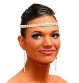 Stirnband mit Aufnähsteinen
