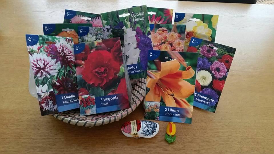 Facecook Winactie - Geschenk bloembollen pakket