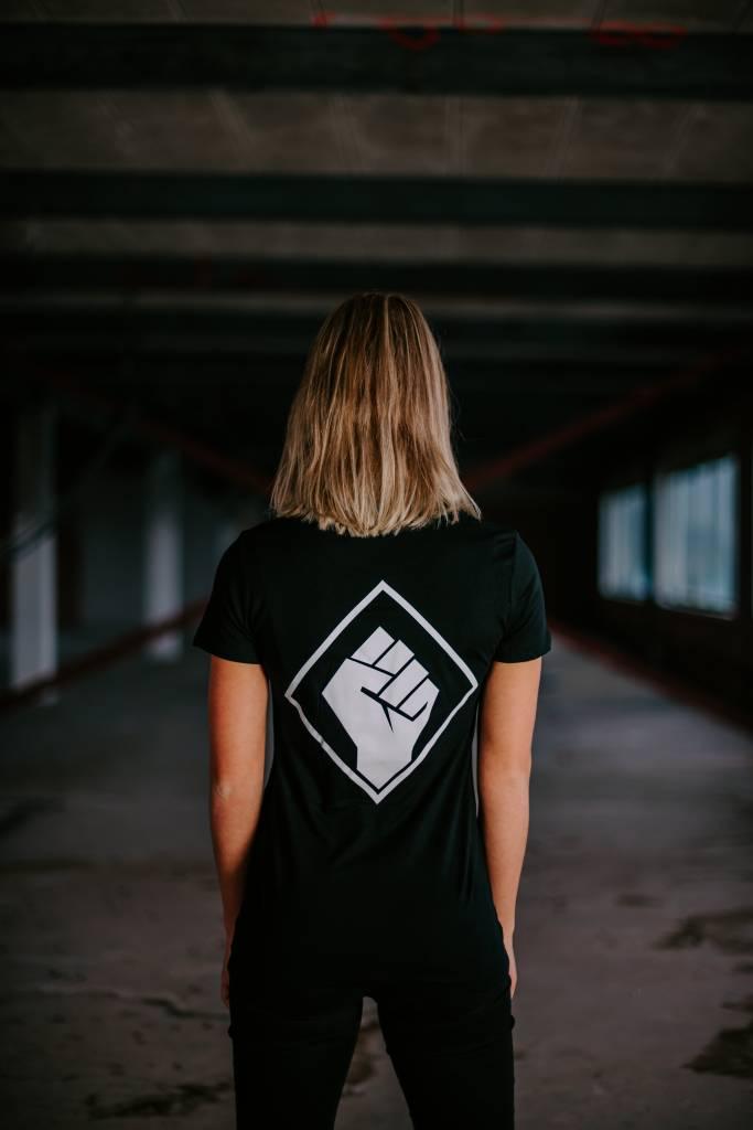 Rotterdam Rave T-shirt (woman) logo back