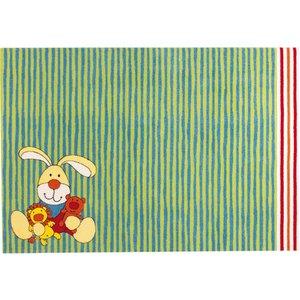 Sigikid vloerkleed Semmel Bunny groen