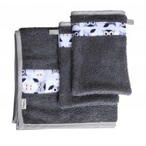 Trixie Baby handdoek met washandjes Owl